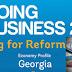 Грузия поднялась в рейтинге Doing Business на 6-е место в мире