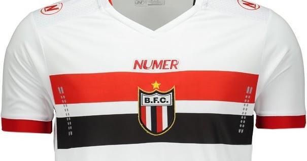 Numer lança as novas camisas do Botafogo de Ribeirão Preto - Show de Camisas 9f6d6e40aa567