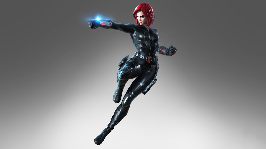 Black Widow Marvel Ultimate Alliance 3 8k Wallpaper 12