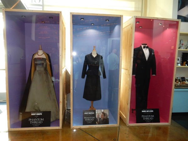Phantom Thread movie costumes