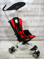 Kereta Bayi LightWeight CocoLatte CL08 iSport - Red