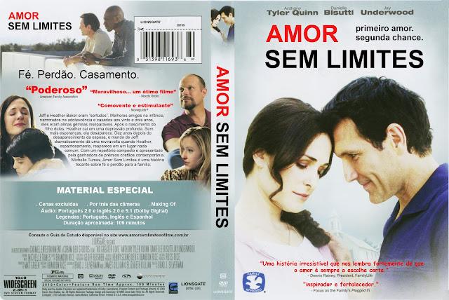 Capa DVD Amor Sem Limites