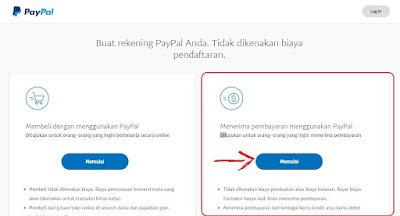 cara mebuat akun paypal terbaru tanpa kartu kredit