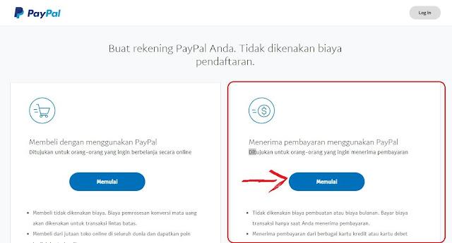 Cara Daftar Akun Paypal Gratis Tanpa Kartu Kredit