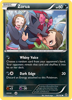 Zorua BREAKthrough Pokemon Card