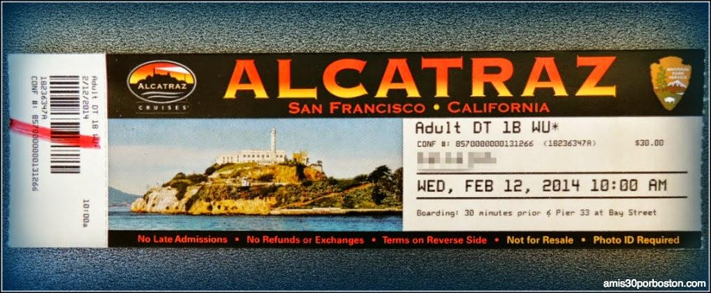 La Prisión de Alcatraz: Entradas