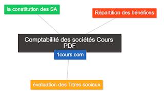 Comptabilité des sociétés cours PDF