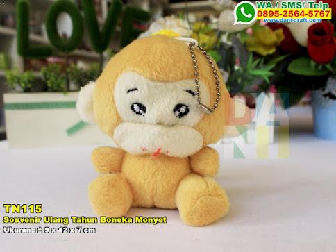 Souvenir Ulang Tahun Boneka Monyet