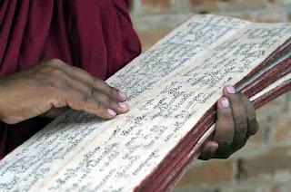 Learn to read Pali language