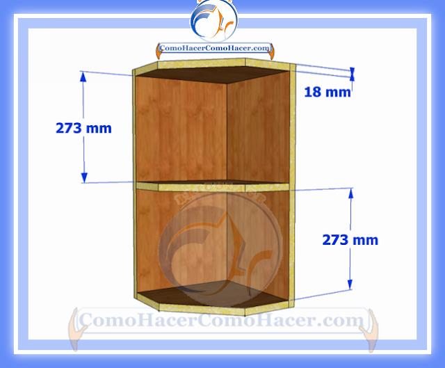 Mueble esquinero de cocina integral ideas for Medidas para cocina integral