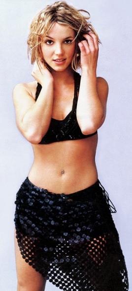 Foto de Britney Spears joven y bella