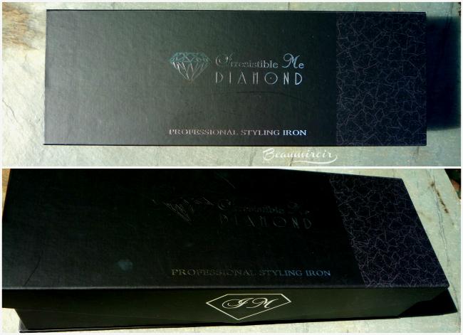 Irresistible Me Diamond Professional Styling iron storage box