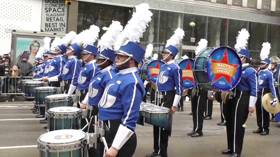 GSU Marching Band in New York City