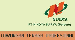 Lowongan BUMN Terbaru Mei 2016 di PT. Nindya Karya (Persero) Profesional