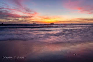 Copyright Vernon Chalmers - Cape Town Photography: Milnerton Beach Sunsets