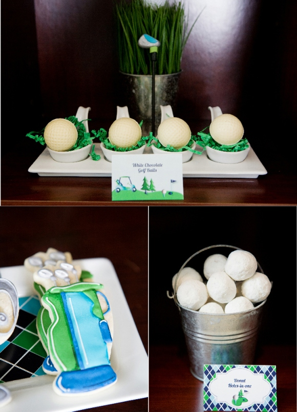 Golf Party Ideas and Cake Pops  - via BirdsParty.com