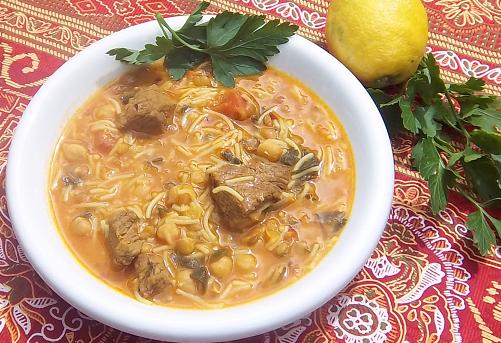 recette harira traditionnelle marocaine harira plat familiale soupe facile & rapide | brio cuit recettes pour ton cuisine