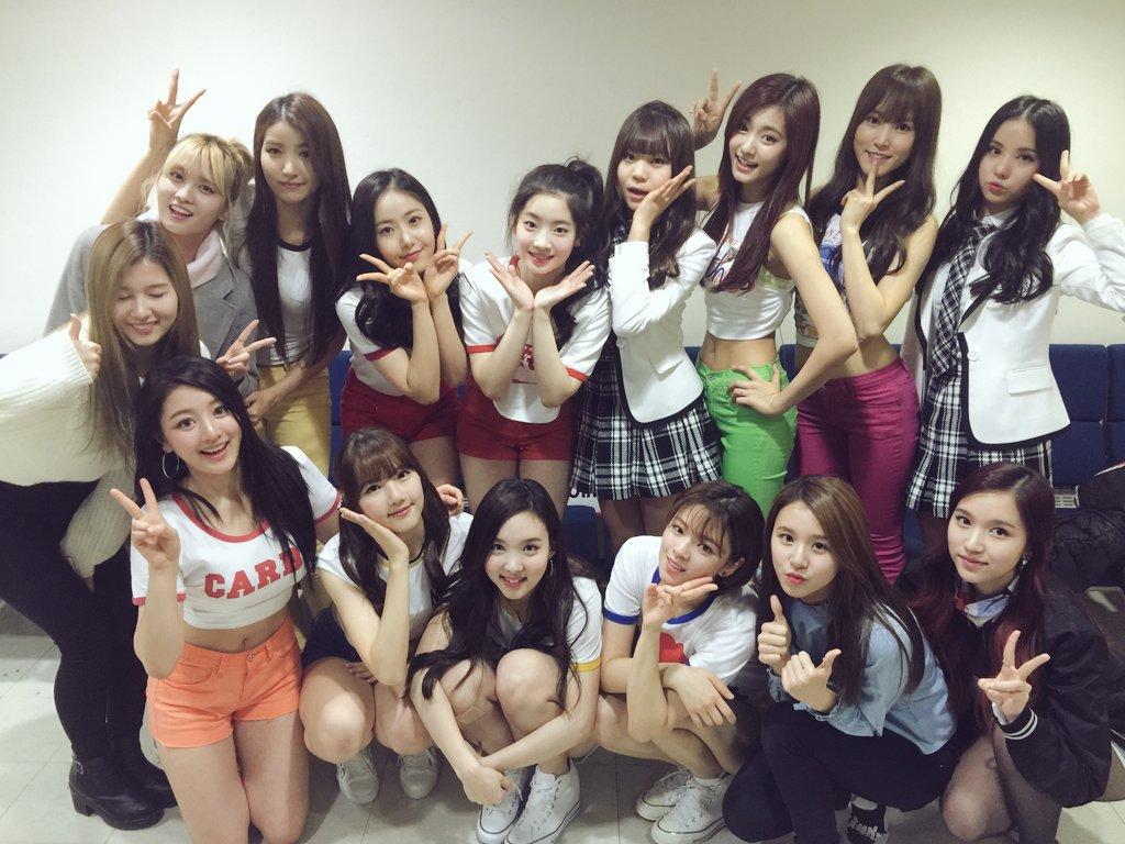kpop girl bands