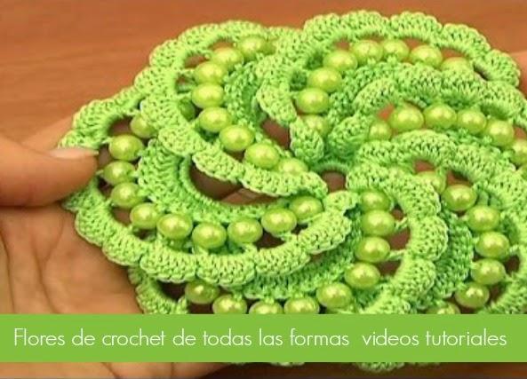 Flores de crochet de todo tipo