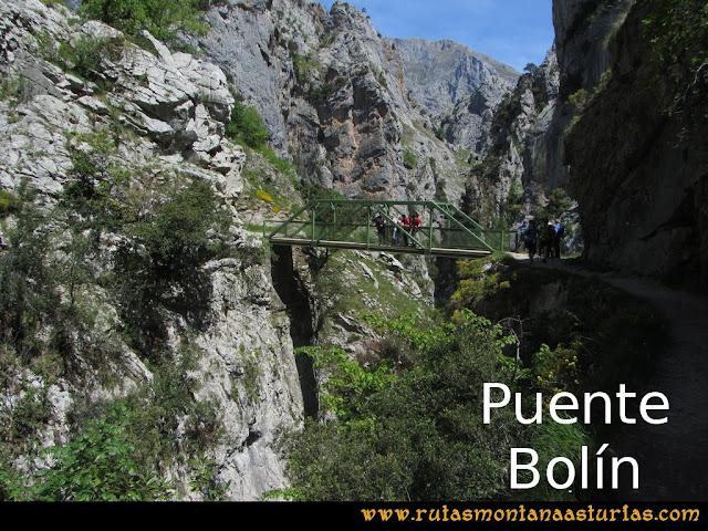 Ruta del Cares: Puente Bolín