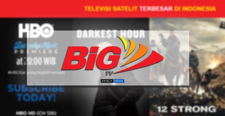 Daftar Lengkap Siaran Dari Channel Big TV Terbaru 2019