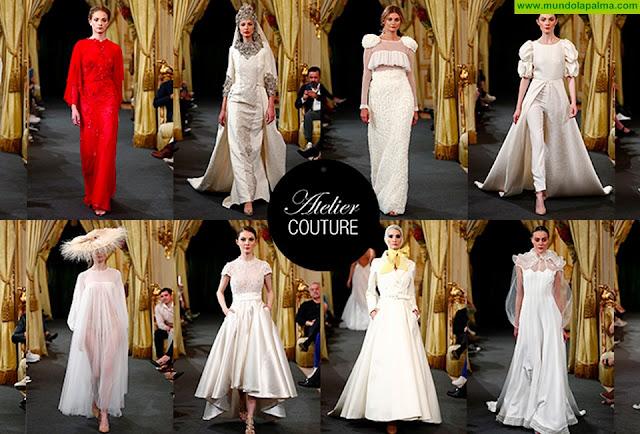 Las firmas palmeras especializadas en moda nupcial presentarán sus propuestas en la exclusiva pasarela Atelier Couture