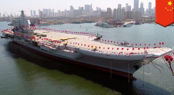 Kapal induk Tipe 001A China