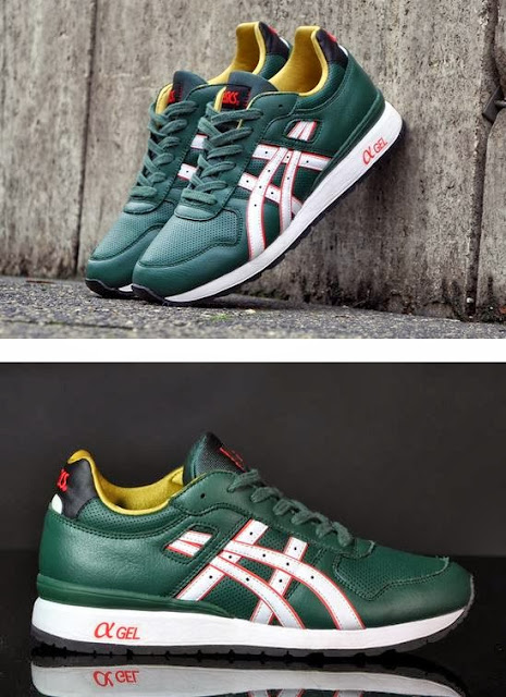 """Here is images via Afew of the Asics GT-II """"Elf"""" Christmas Pack Sneaker  that should be hitting retailers in November 41c140ce0e"""