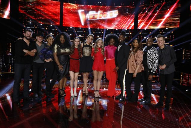 Video: 'The Voice' Season 14 Top 12 interview with Christiana and Britton from Team Alicia