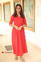 Actress Lavanya Tripathi Latest Pos in Red Dress at Radha Movie Success Meet .COM 0045.JPG