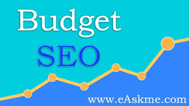 Top Budgeting Tips for SEO : eAskme