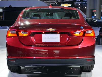 Exclusive 2016 Chevrolet Cruze Facelift rear look Hd Image