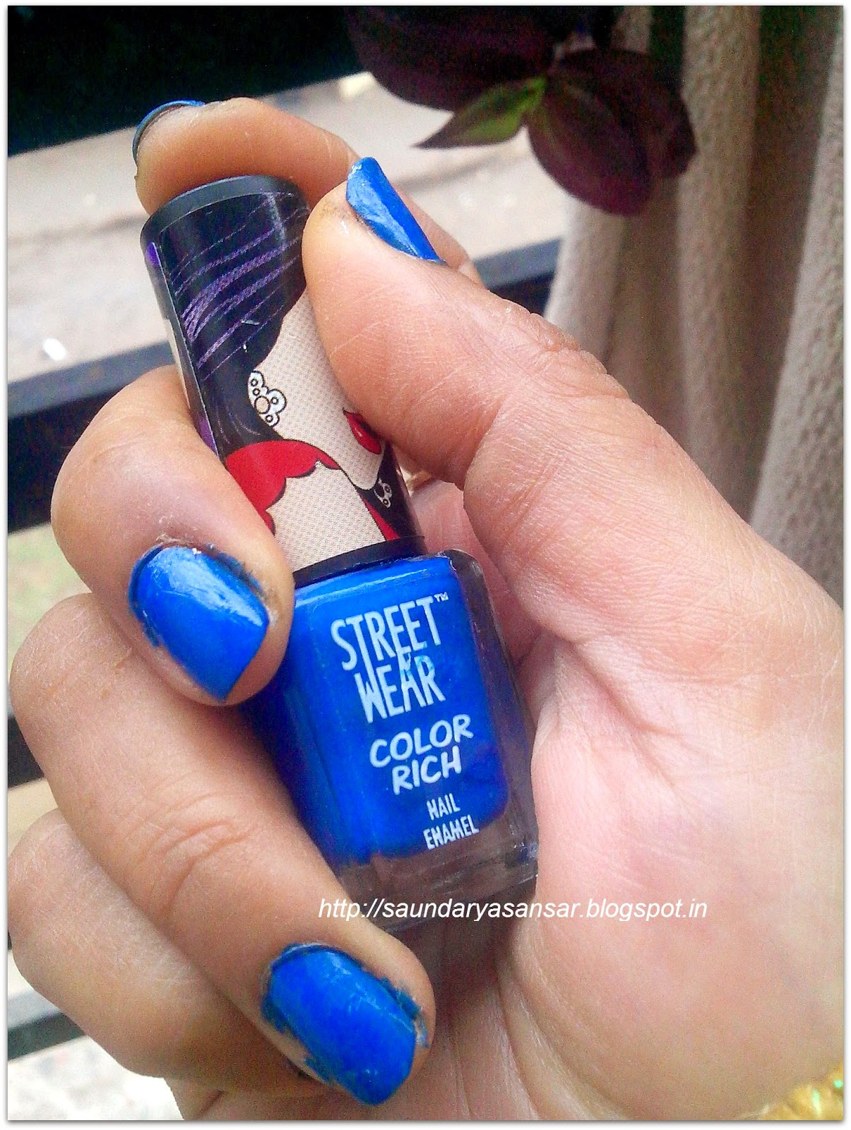 Street Wear Color Rich Nail Enamel Review, Swatch