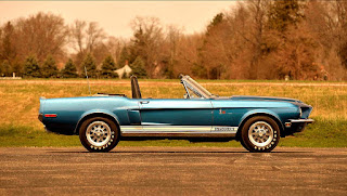1968 Ford Mustang Shelby GT500KR Convertible Side Right