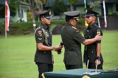 233 Bintara TNI AD TA 2018 Dilantik Pangdam I/BB