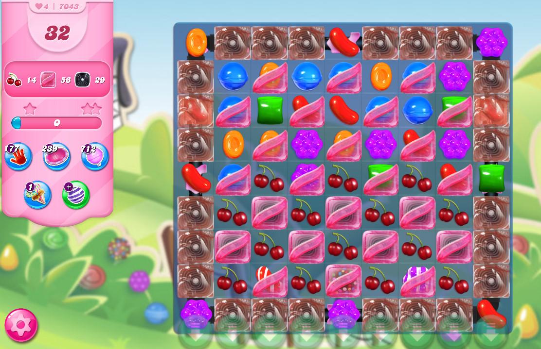 Candy Crush Saga level 7043