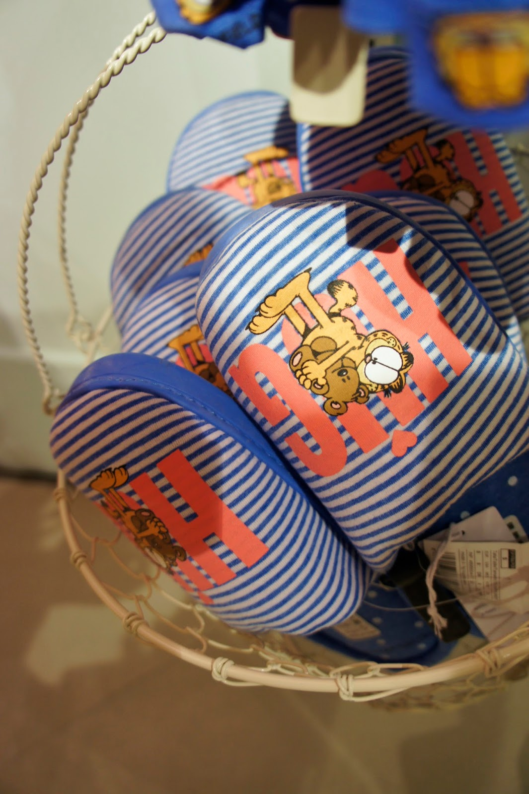 pantuflas garfield