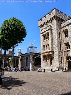 Interior de la Torre de Londres.
