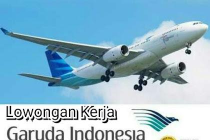 Lowongan Kerja (BUMN) Garuda Indonesia Tingkat Lulusan Min. Sarjana (S1)