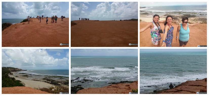 Falésia do Chapadão - o que fazer na Praia da Pipa - Rio Grande do Norte