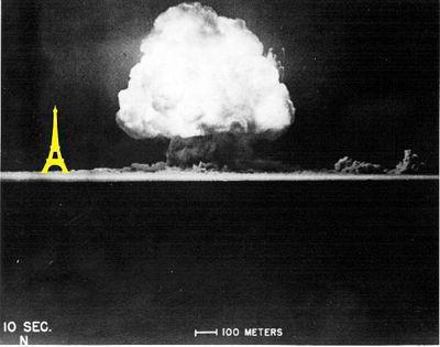 الطاقة الهائلة التي تطلقها القوة النووية القوية