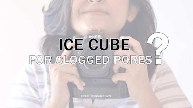 Beauty Hacks : Cara Mengecilkan Pori-Pori Dengan Es Batu
