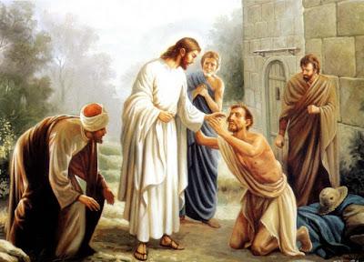 Resultado de imagen para imagenes comerciales jesus cura al ciego de nacimiento