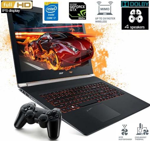 Perbedaan antara Gaming Laptop dengan Notebook / Netbook