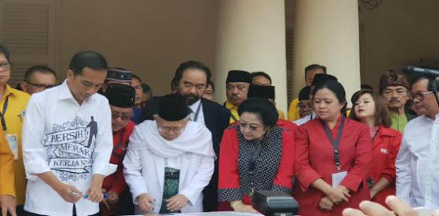 PSI Kecewa dengan Maruf, Nasdem: Masih Banyak Parpol yang Dukung Jokowi