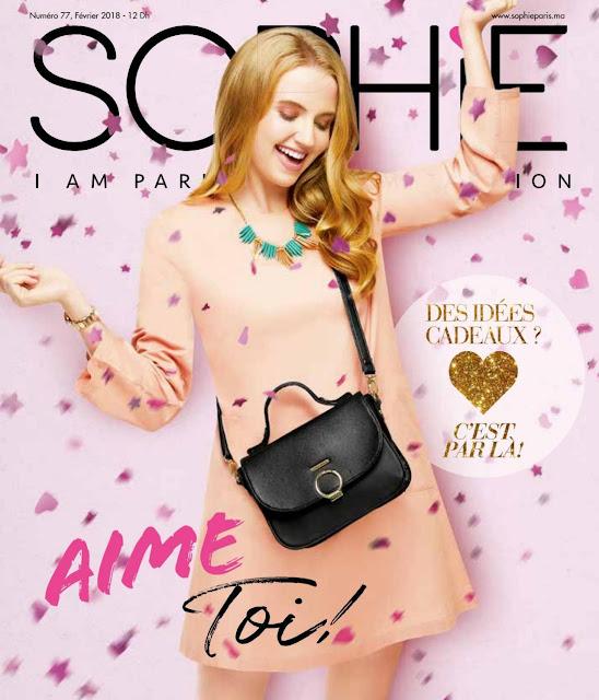 catalogue sophie paris maroc fevrier 2018