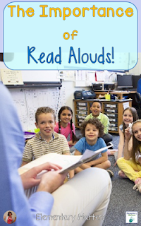 The Importance of Read Alouds