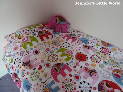 First bedding for little girl