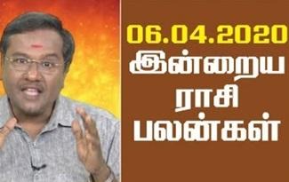 Rasi Palan 06-04-2020 Jaya Tv Horoscope