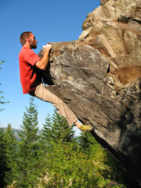 Day - Rock Climbing And Life Larch Mountain Bouldering Washington